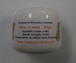 Skin Cream Made With Bees Products 50gr