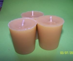 Votives pack of 3